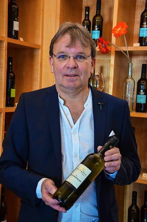 Heinrich Stefan Männle ist seit 25 Jahren Geschäftsführer der WG Pfaffenweiler.  | Foto: Gabriele Hennicke