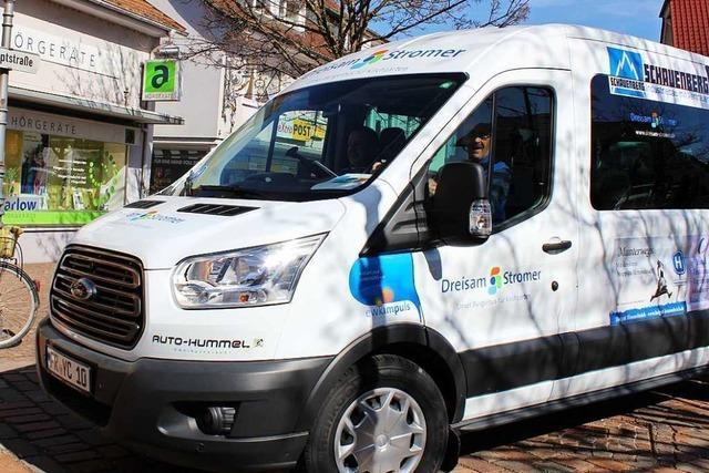 Bürgerbus in Merzhausen fährt wegen des Coronavirus derzeit nicht