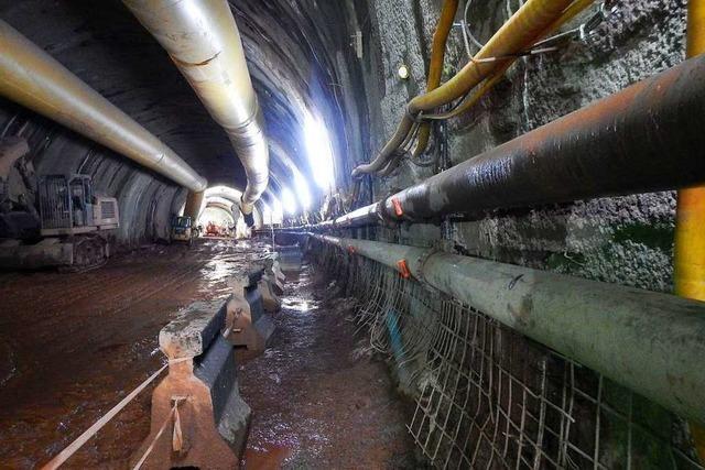 Trotz Corona kommt der Tunnelbau für die Ortsumfahrung Winden gut voran