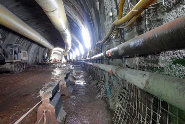 Trotz Corona kommt der Tunnelbau für die Ortsumfahrung gut voran