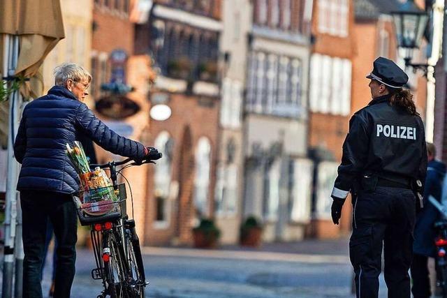 Die meisten Bürger im Landkreis Lörrach halten sich an Kontaktverbote