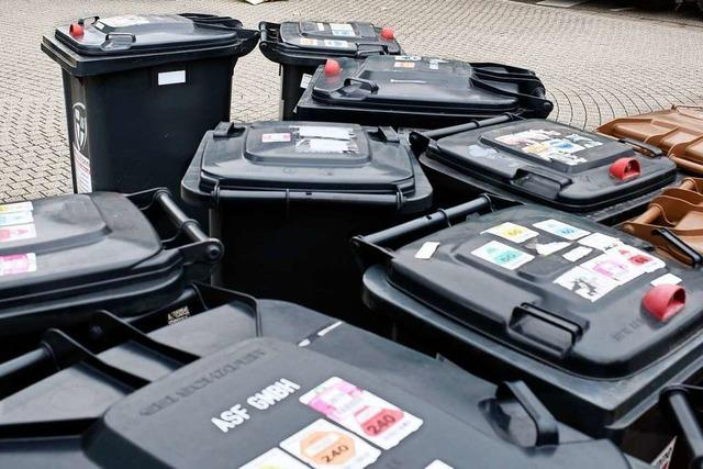 Abfall von Freiburger Corona-Infizierten muss in die Restmülltonne