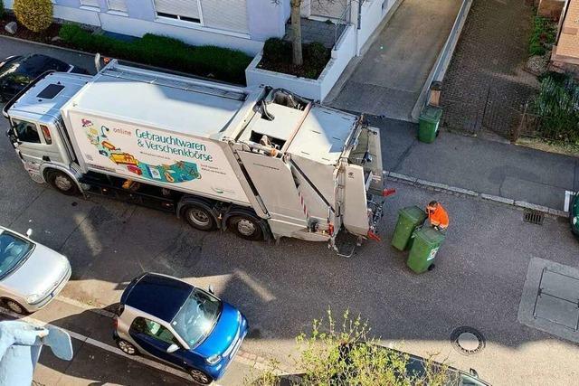 Die Müllabfuhr bittet: