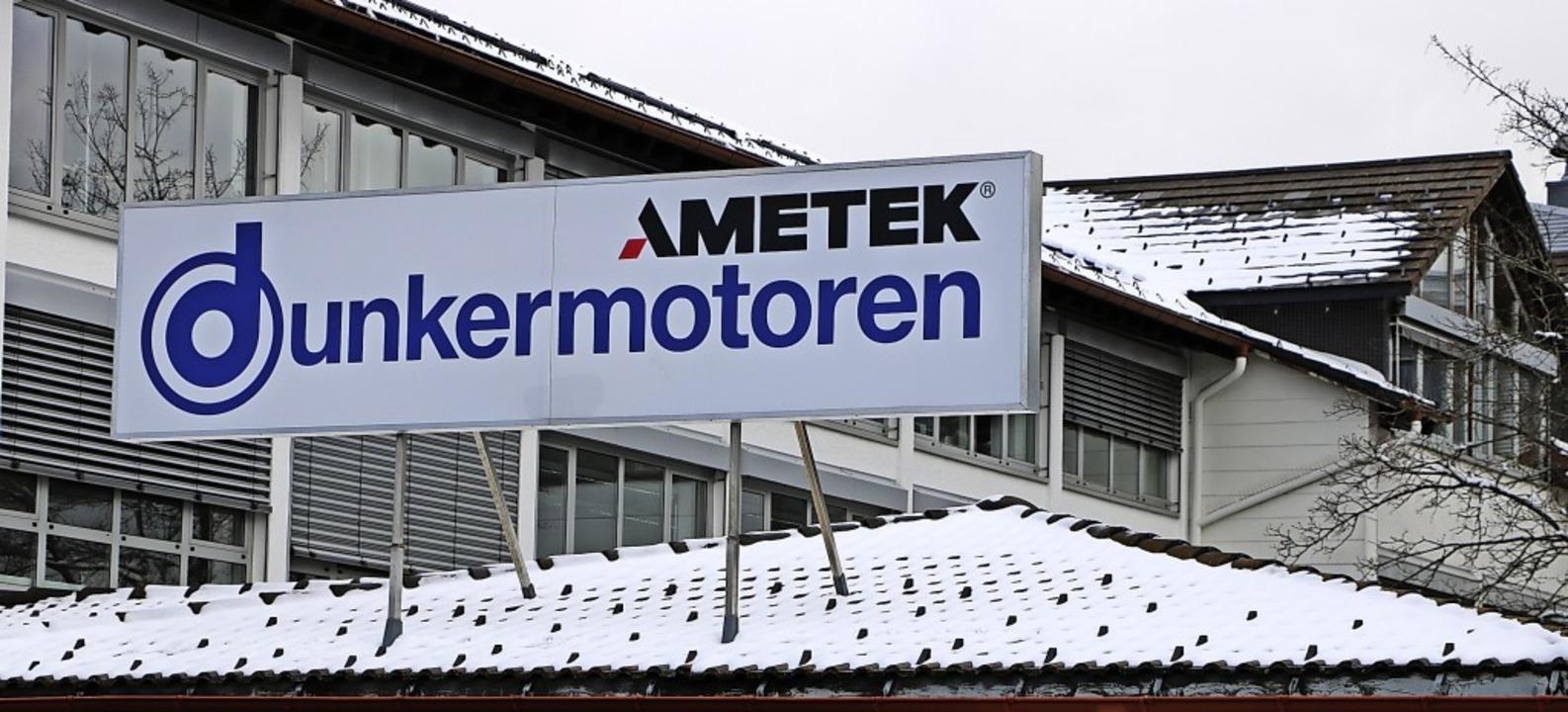 Die weltwirtschaftlichen Verwerfungen ...der Dunkermotoren GmbH nicht vorüber.   | Foto: Martha Weishaar
