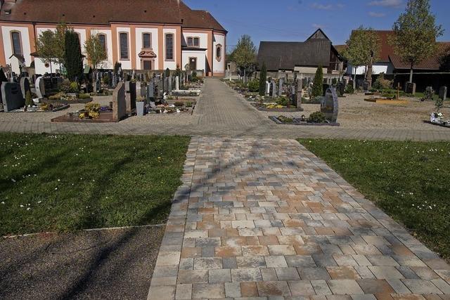Friedhof wird weiter saniert