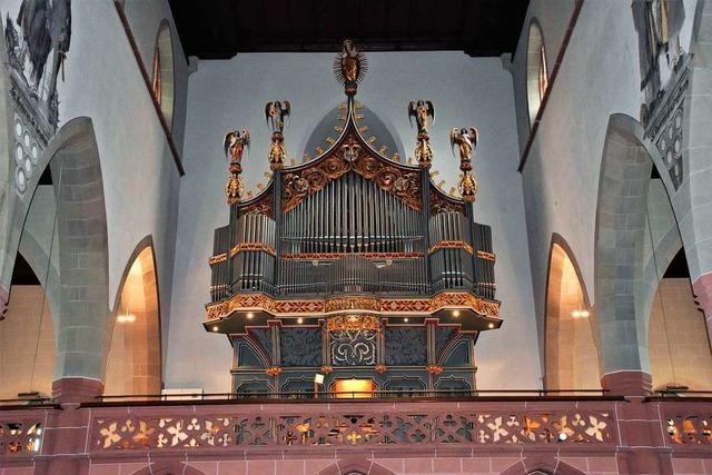 Vor 25 Jahren wurde die Münster-Orgel in Titisee-Neustadt renoviert