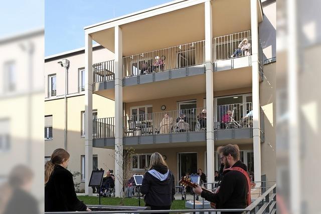 Open-Air-Konzert für Breisacher Senioren