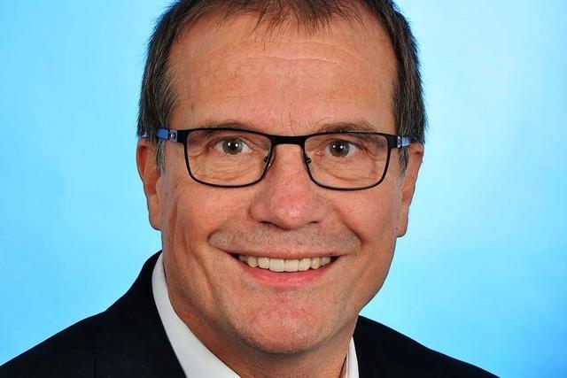 Amtsinhaber Klaus Eberhardt geht in einen Wahlkampf ohne Gegner
