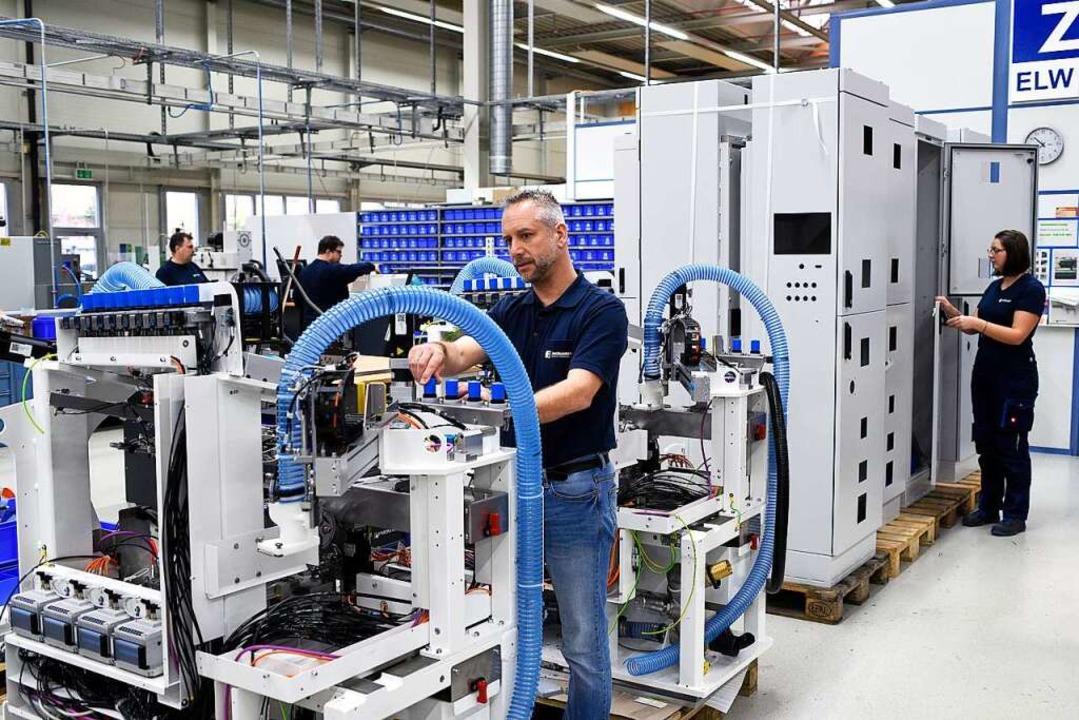 Bei der Produktion ist Präzision gefragt.  | Foto: Thomas Kunz