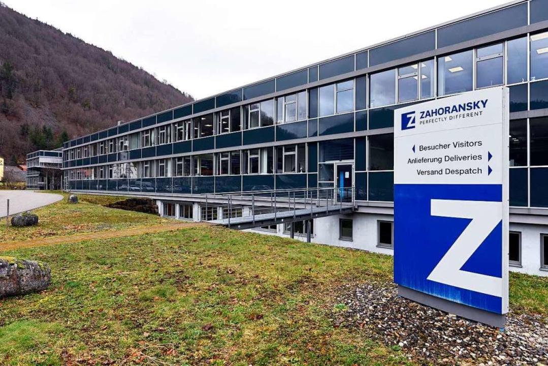 Der Firmensitz in Todtnau-Geschwend an der Anton-Zahoransky-Straße  | Foto: Thomas Kunz