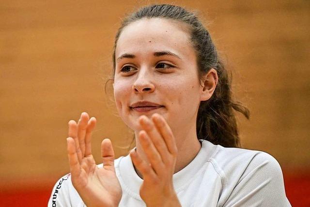 Basketballerin Viktoria Wieczorek: