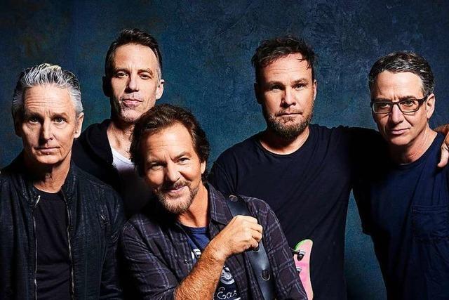 Noch mal richtig in die Kurve legen – Pearl Jams neues Album