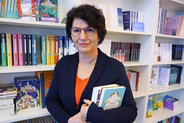 Die Freiburger Literaturagentin Beate Riess vermittelt Autoren