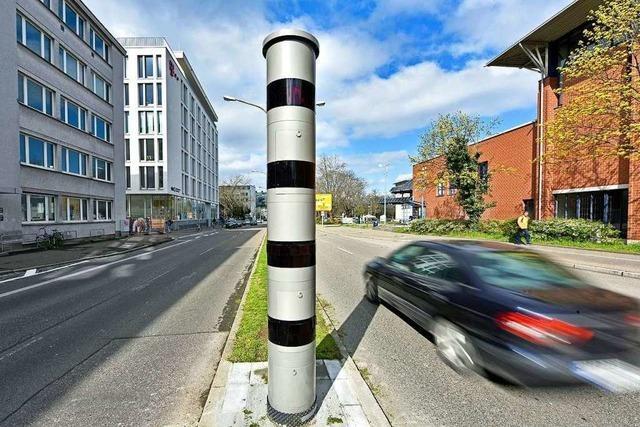 Im Freiburger Stadtgebiet gibt es fünf neue Dauer-Blitzer