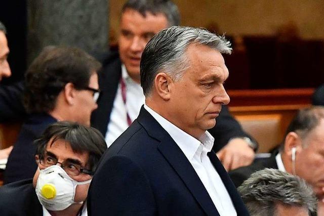Orban errichtet Notstandsregime in Ungarn – Parlament entmachtet