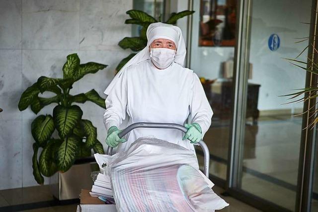 Das Virus aus den Seniorenheimen fernhalten – jeder trägt dafür Verantwortung