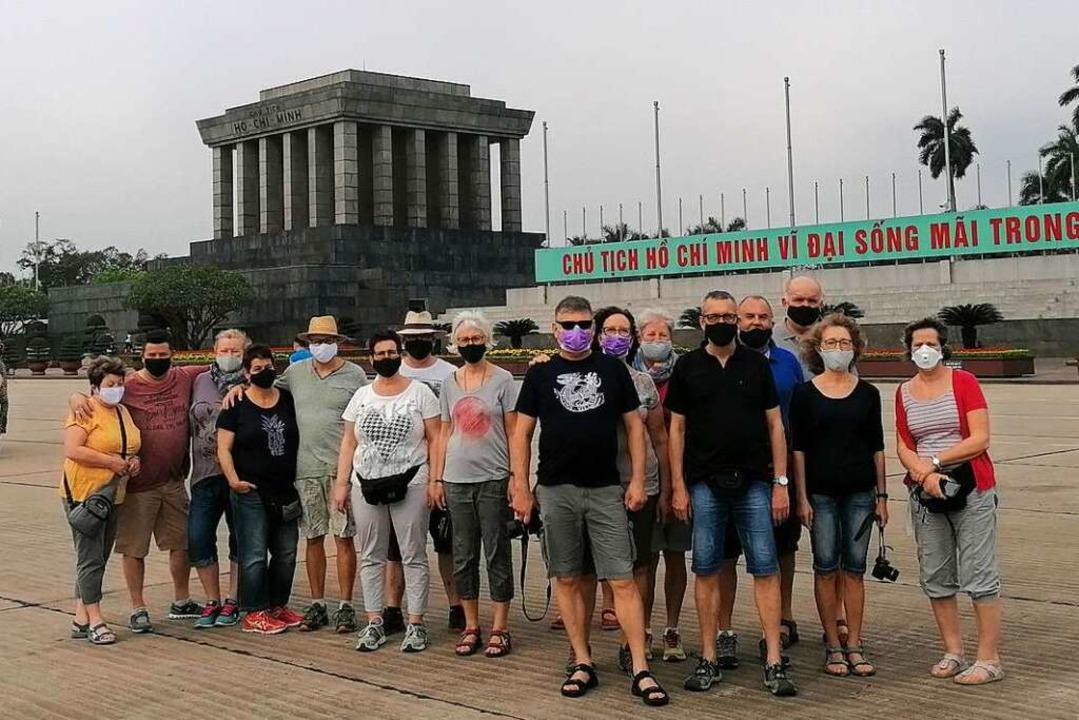 Die Vietnam-Reisegruppe  | Foto: Volker Münch
