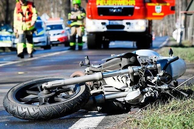 Polizei warnt zur Bike-Saison vor Risiken