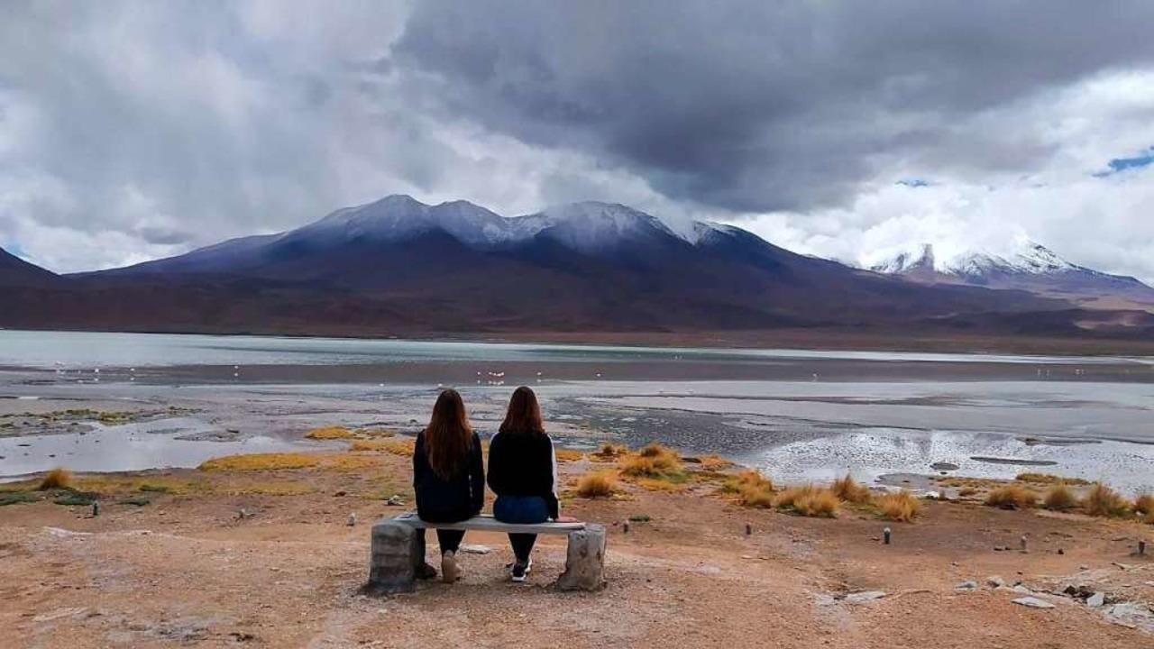 Kurz nach dem Besuch des Nationalparks...nellstmöglich aus Bolivien rausmüssen.  | Foto: privat