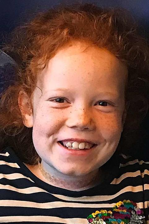 Soll am 15. April die hoffentlich heil...n: Die neunjährige Jana aus Münstertal  | Foto: Privat