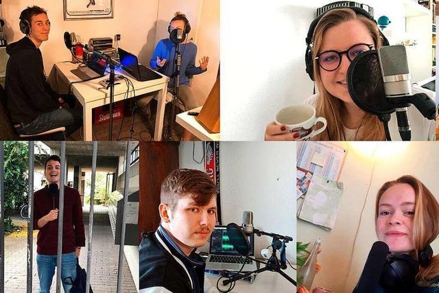 Freiburger Uniradio sendet in der Corona-Zeit aus dem Homeoffice