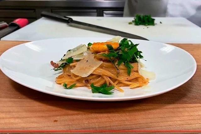 Kochen mit Amadeus Kura: Spaghetti Carbonara