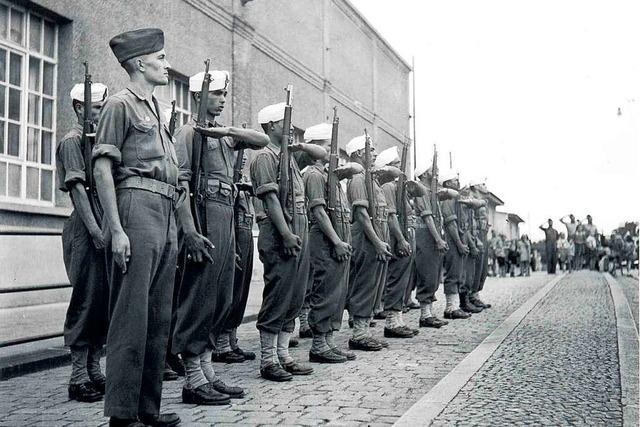 Wie ein Lörracher Ortsteil die französische Besetzung zum Kriegsende erlebte