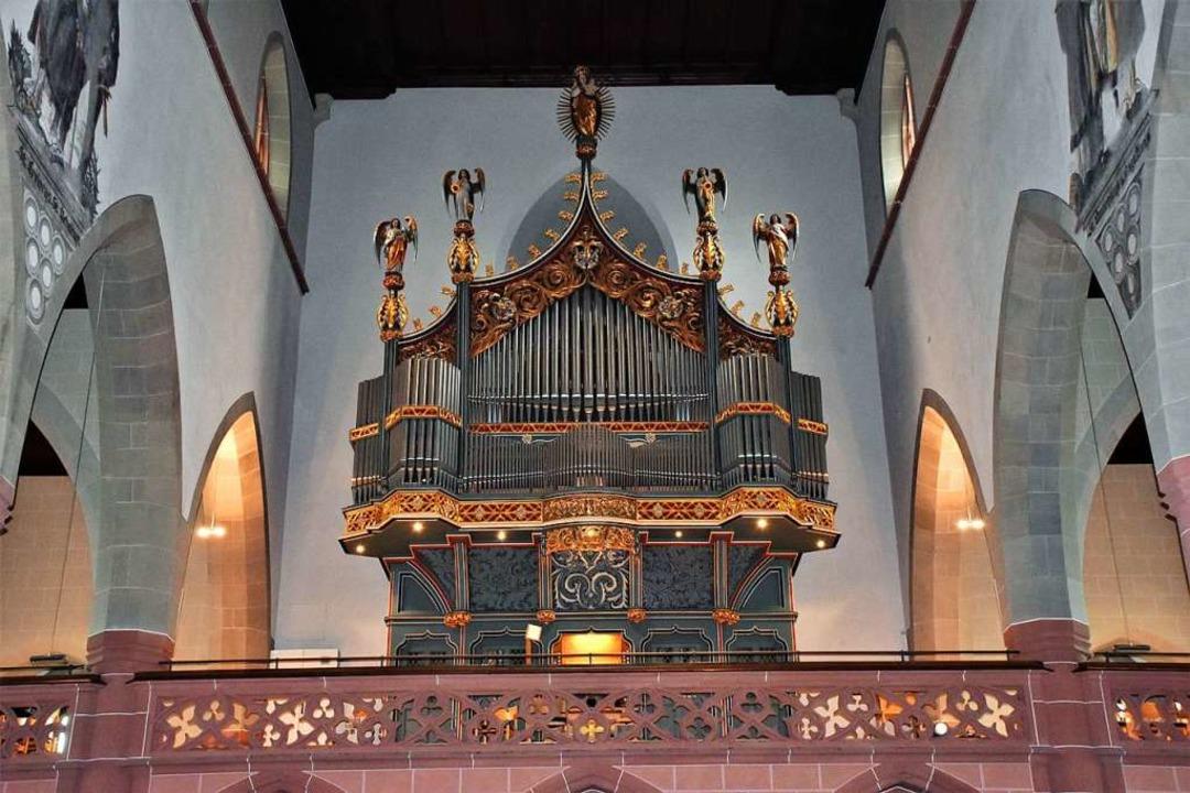 Die Orgel im Münster St. Jakobus    Foto: Thomas Biniossek