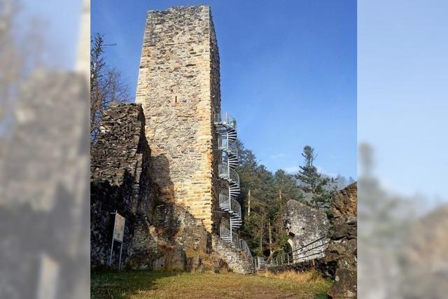 Eine Burg mit Höhen und Tiefen