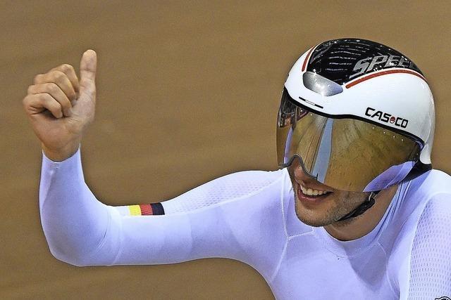 Als Preis für die virtuelle Raserei gibt's eine Corona-Schutzmaske
