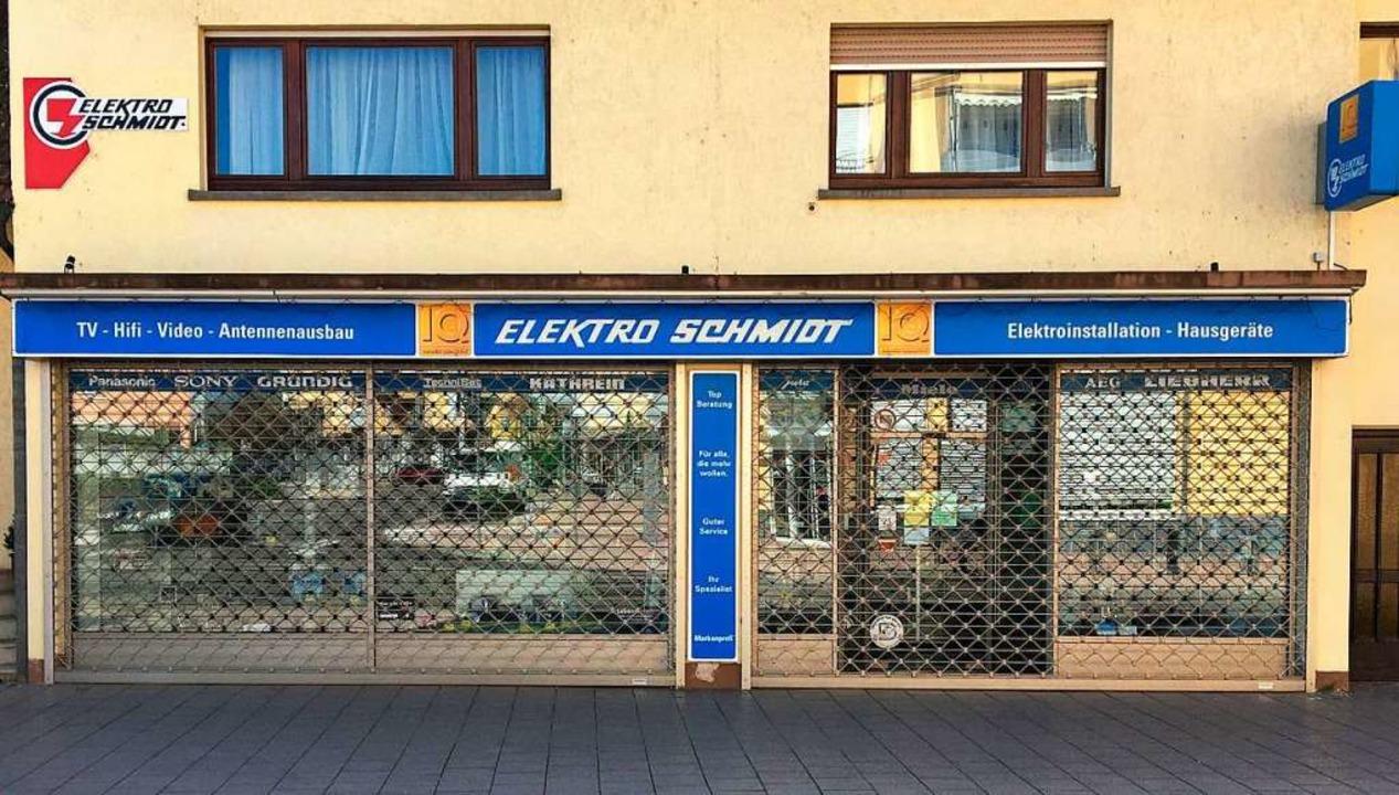 In Zeiten von Corona ein übliches Bild...eibt der Laden auch nach Corona dicht.  | Foto: Markus Zimmermann
