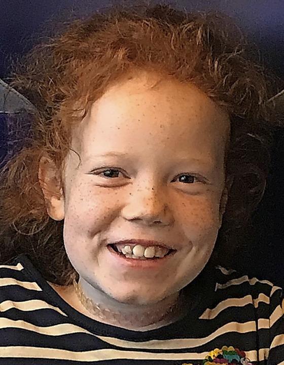 Die neunjährige Jana     Foto: Privat