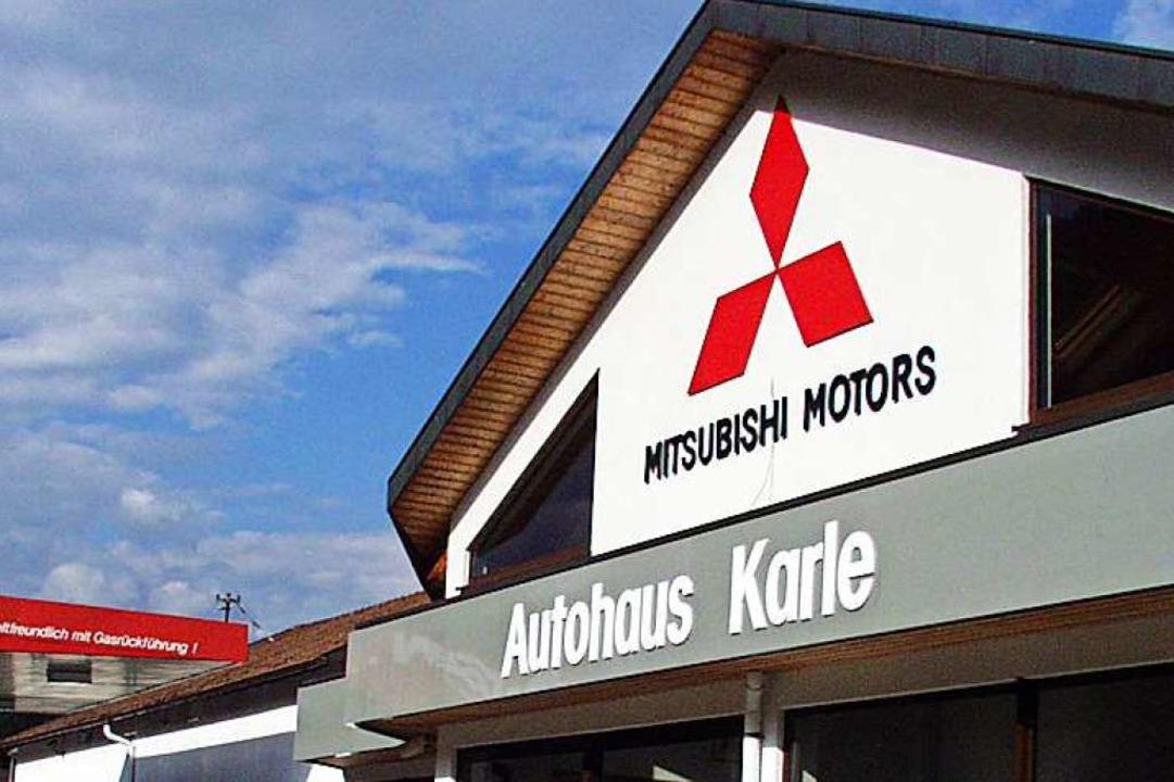 Das Autohaus Karle in Zell (Archivbild)  | Foto: Paul Berger