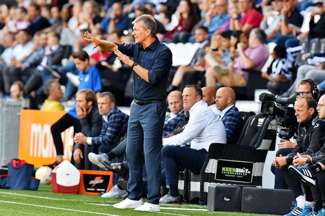 An Fußball vor Zuschauern ist auch in den Niederlanden aktuell nicht zu denken.    Foto: Heracles