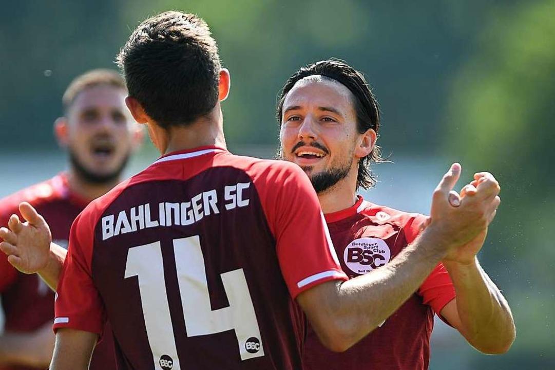 Er wagt in der kommenden Saison kein T...k (rechts) wechselt zum FC Denzlingen.  | Foto: Patrick Seeger