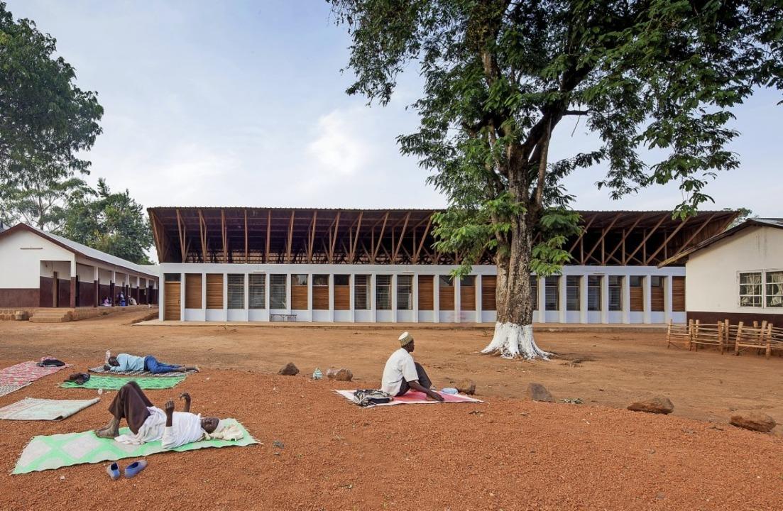Ein Krankenhaus in Ngaoubela, Kamerun   | Foto: Matthias Kestel