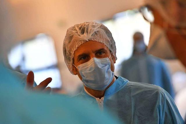 Frankreich will im großen Stil Schutzmasken herstellen