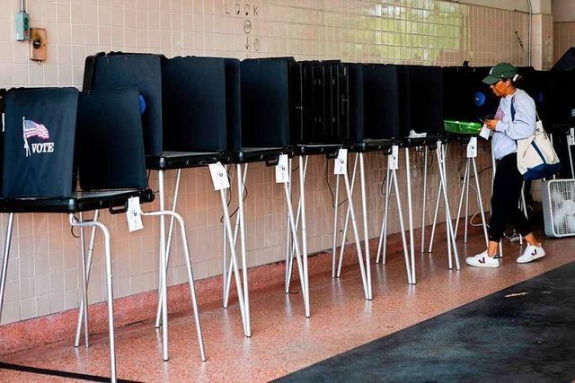 Präsidentschafts-Wahlkampf aus dem Home-Office