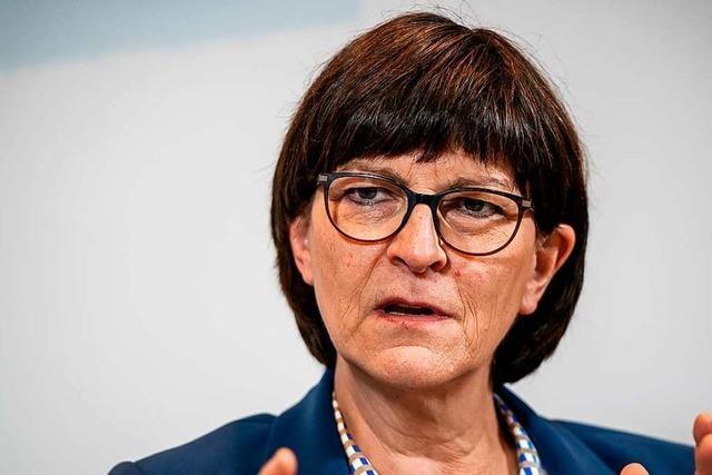 SPD-Vorsitzende Esken will