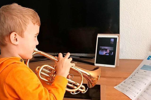 Wenn der Musiklehrer übers iPad unterrichtet