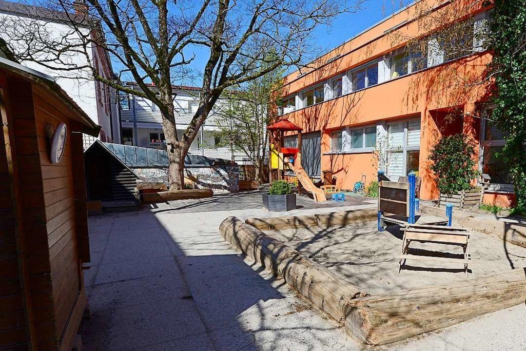 Weil die Kitas geschlossen sind, stell...ier die Freiburger Kita Weltentdecker.  | Foto: Ingo Schneider