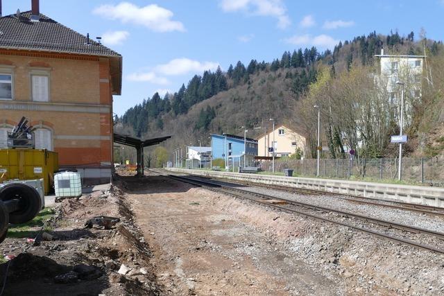 So laufen die Bauarbeiten an der Elztalbahn