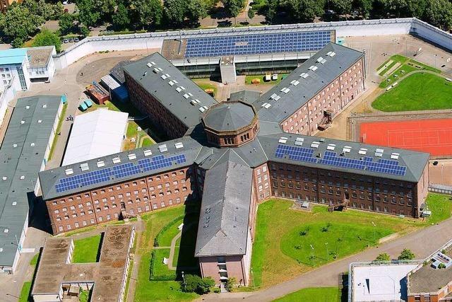 119 U-Häftlinge warten in der Freiburger JVA auf ihren Prozess
