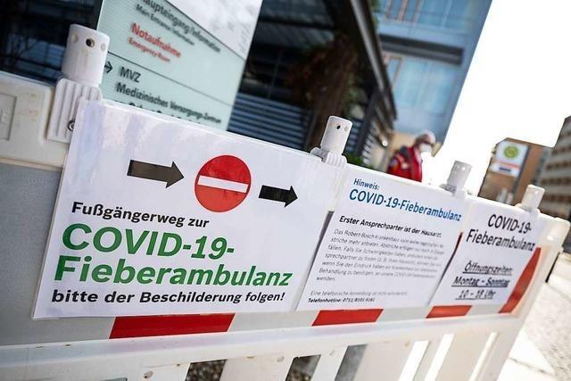 Corona-Ambulanz soll Hausärzte entlasten