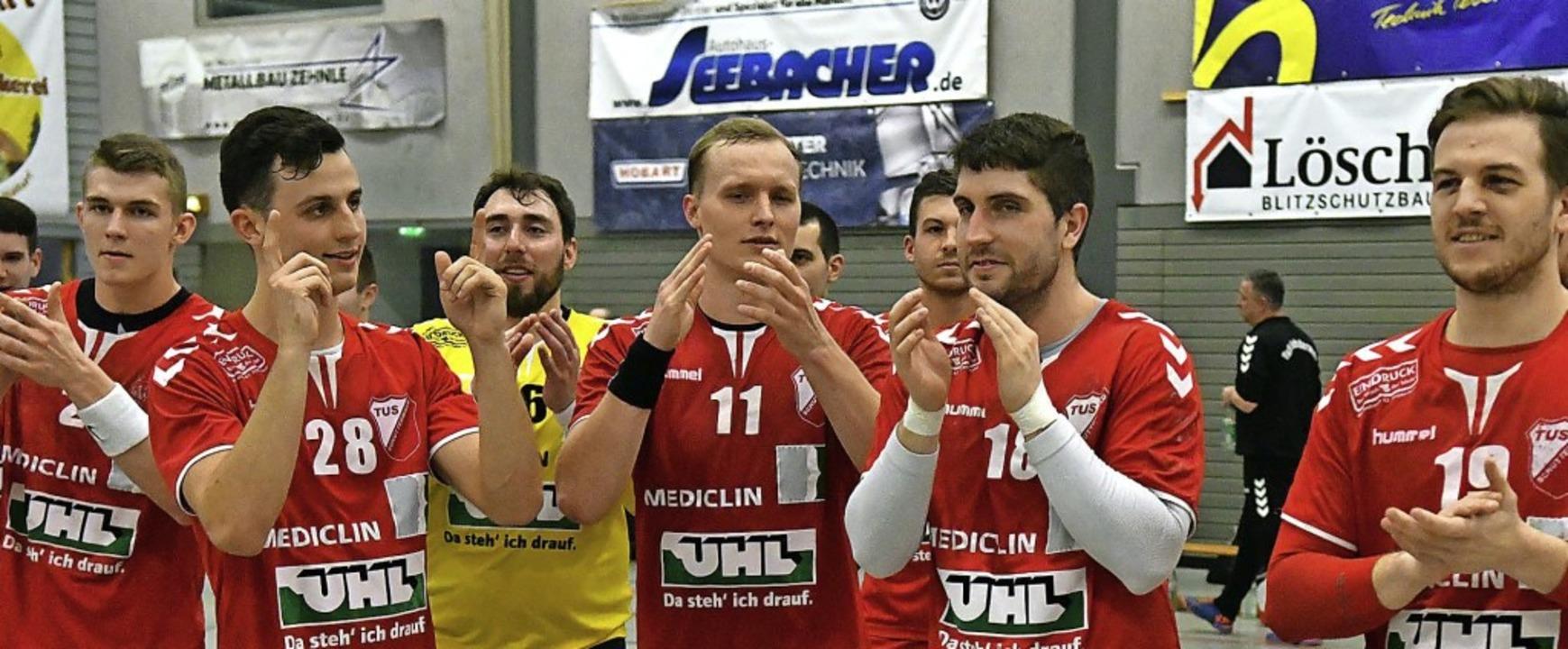 Ob die TuS-Handballer aus Schutterwald...ejubeln dürfen, steht in den Sternen.   | Foto: Wolfgang Künstle