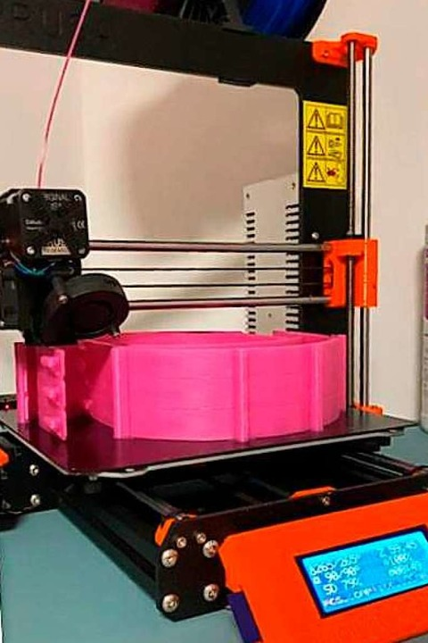 Der 3D-Drucker  | Foto: Privat