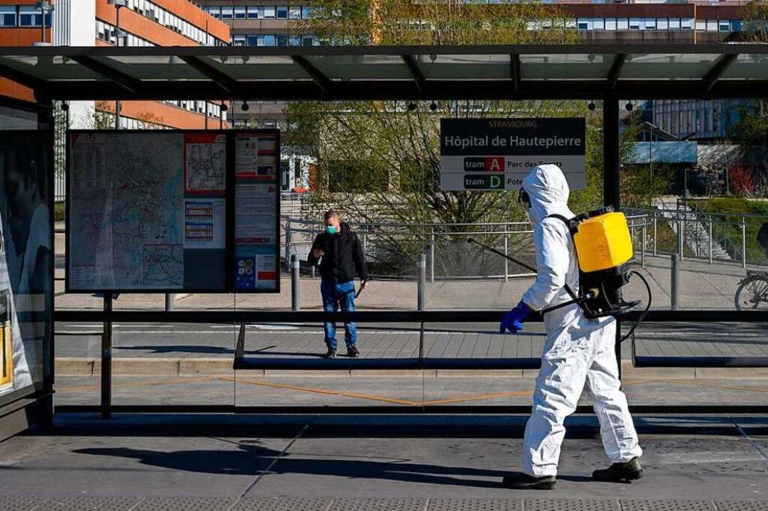Die Uniklinik Straßburg (hier sind Des...gen Vorwürfe eines privaten Instituts.  | Foto: PATRICK HERTZOG