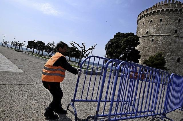 Griechenland trotzt der Corona-Epidemie