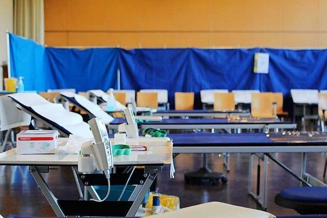 275 Menschen haben sich für die Blutspende in Haltingen angemeldet