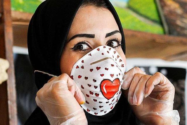So kreativ maskieren sich die Menschen in aller Welt